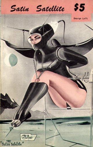 Gene Bilbrew futuristic space bondage cover art