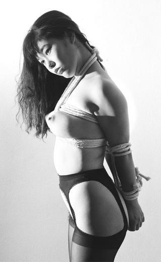 bondage photograph by Richard Kern, famous fetish photographer