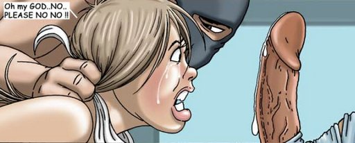 Deep throating enormous cocks