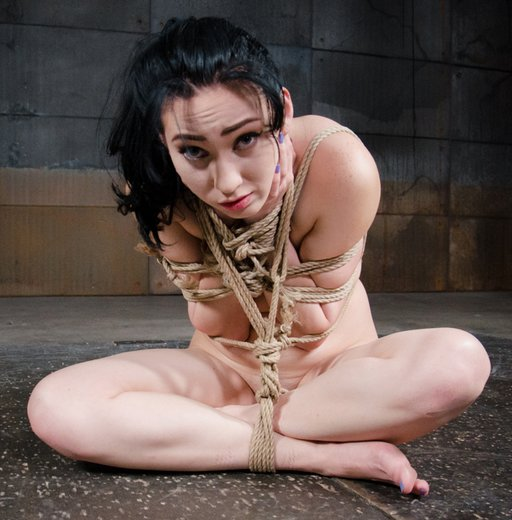 aria alexander rope bondage