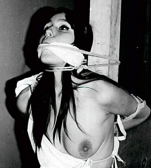 rope gag and cloth gag