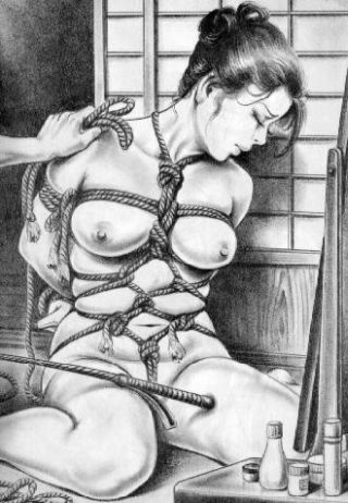 rope bondage harness