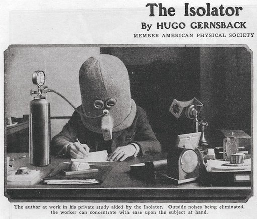 the isolator hood for authors