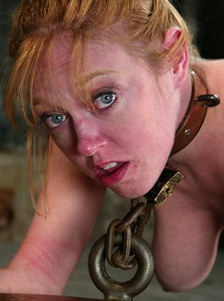 heavily chained girl