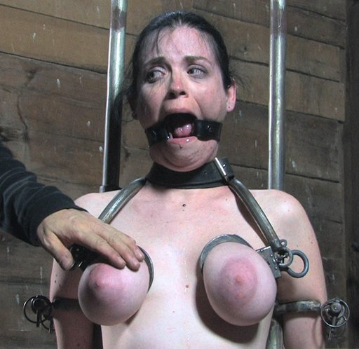 breast shackles and ring gag fear