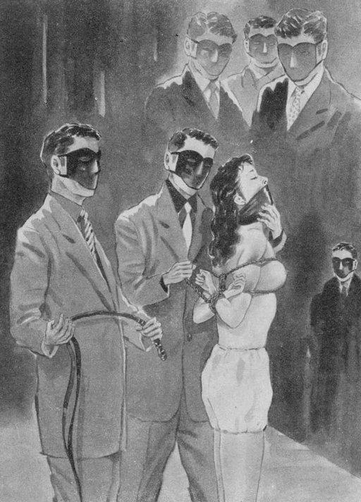 six masked sadistic men