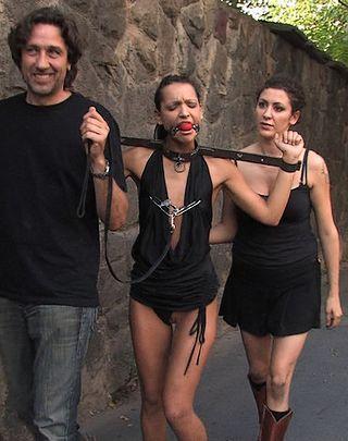 slavegirl in irons