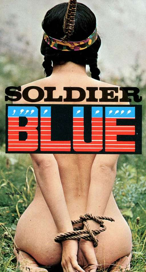 bondage move poster for Soldier Blue