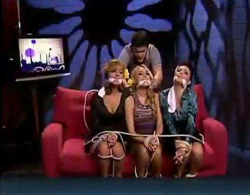 gagged on spanish television