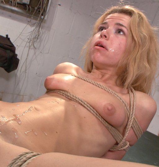 cum all over bondage girl Alina West