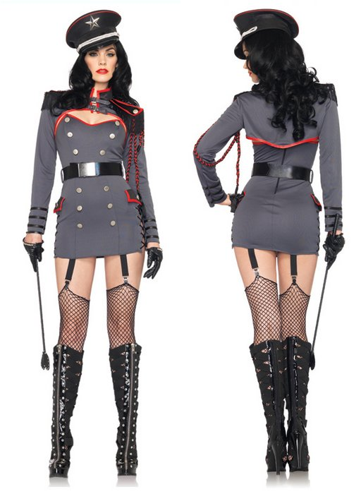 general punishment sexy halloween costume uniform