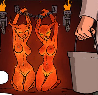 chained succubi