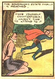 bondage panel from superman