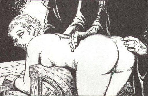 fumetti bondage spanking