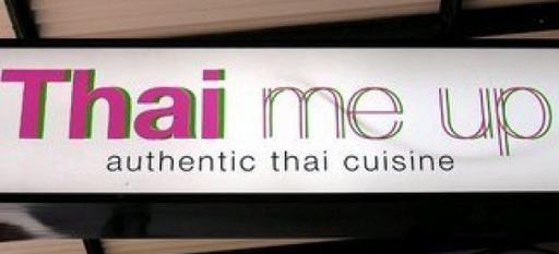 bondage restaurant sign