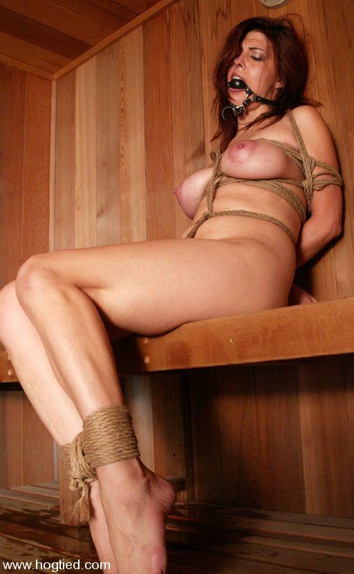 sauna bondage