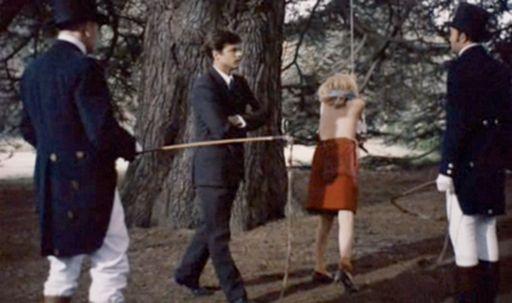 forest whipping scene from Belle de Jour