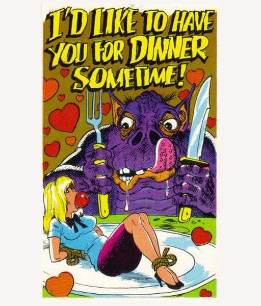 having your valentine for dinner