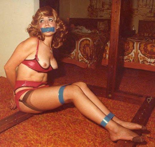bondage tape vintage