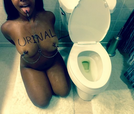 toilet attendant slave and human urinal