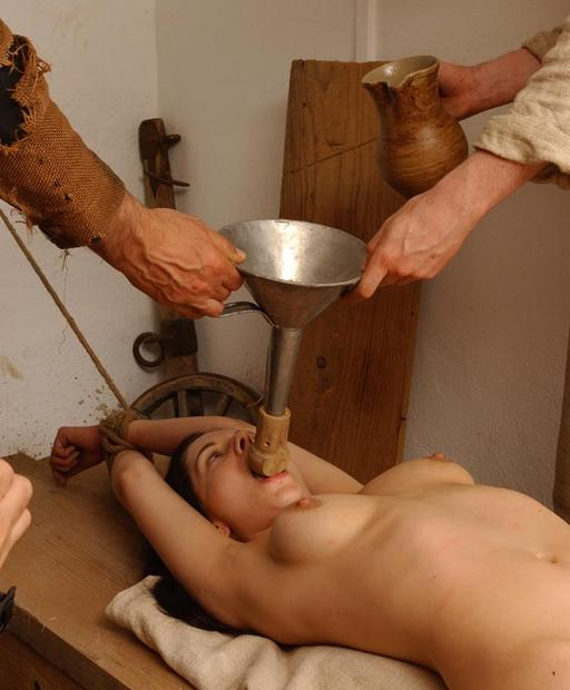 waterboarding, Spanish Inquisition style