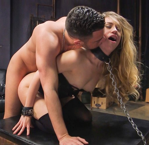 fucked from behind in bondage