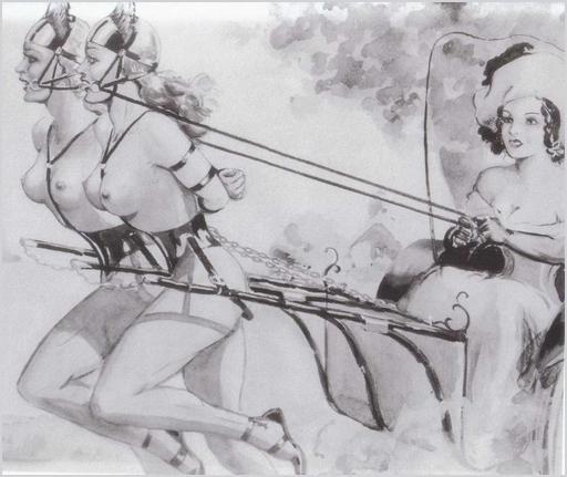 pony girls by John Willie