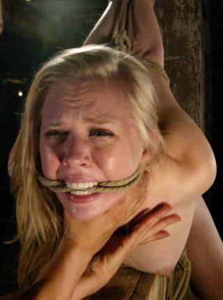 face of bondage girl