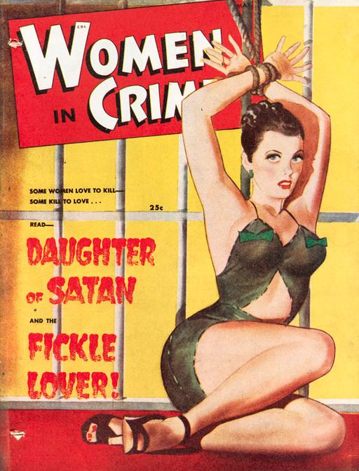 woman in jail with her wrists tied magazine cover