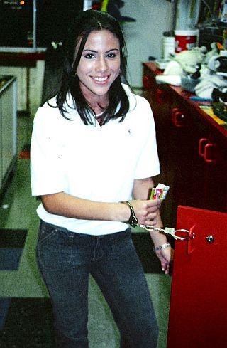 handcuffed on the job